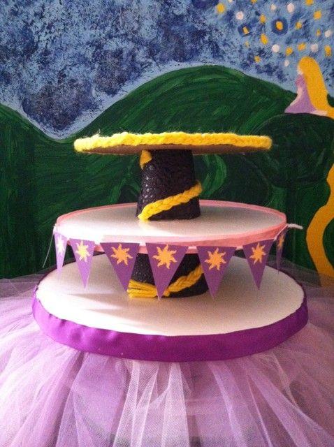 Tangled Theme Cupcake Stand Buy Cupcake Stand At Hobby Lobby