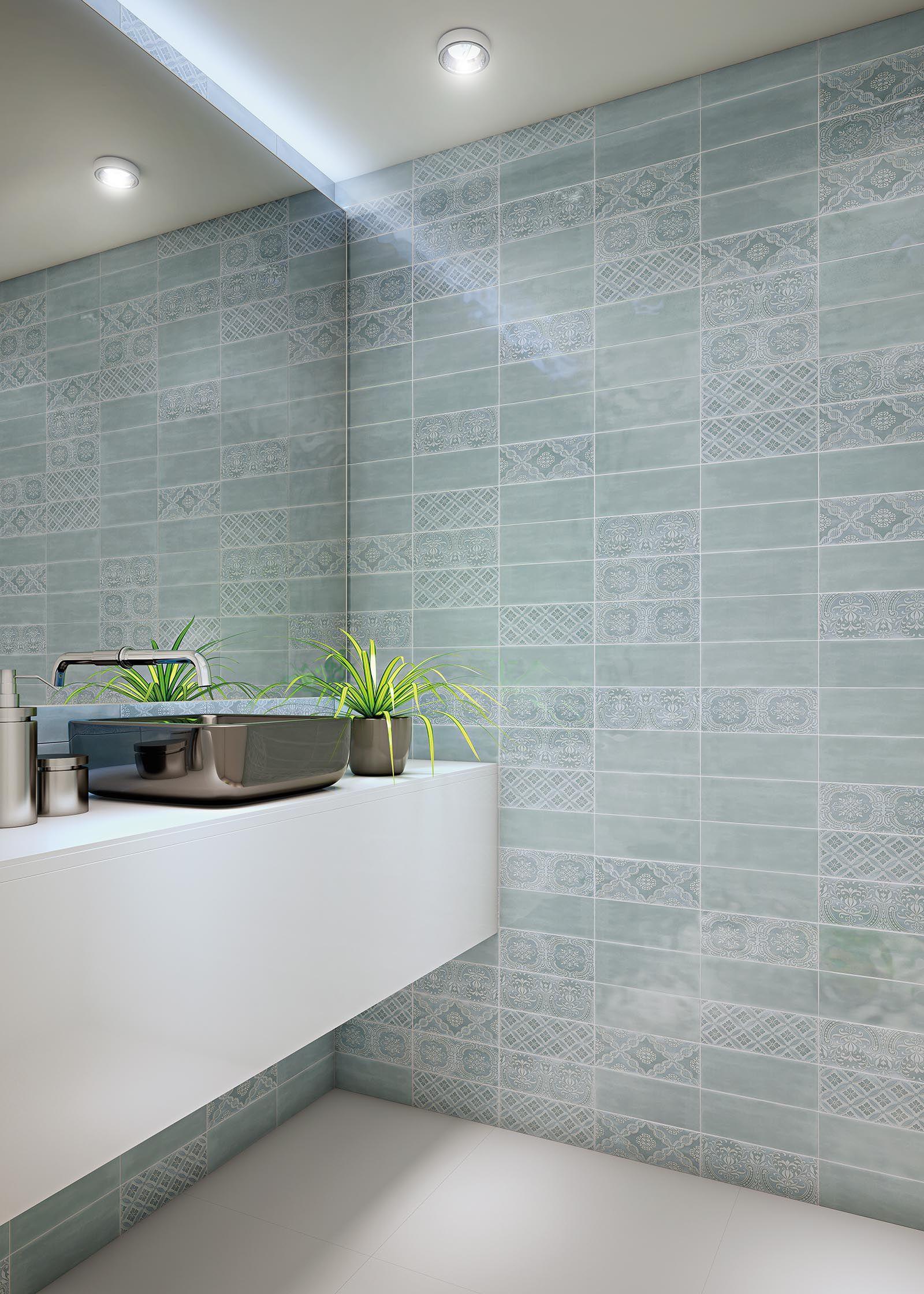 enameled ceramic wall tile creative