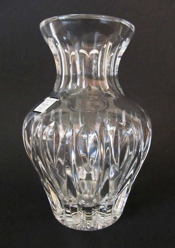 Marquis By Waterford Vintage Crystal Vase Made In Poland Original