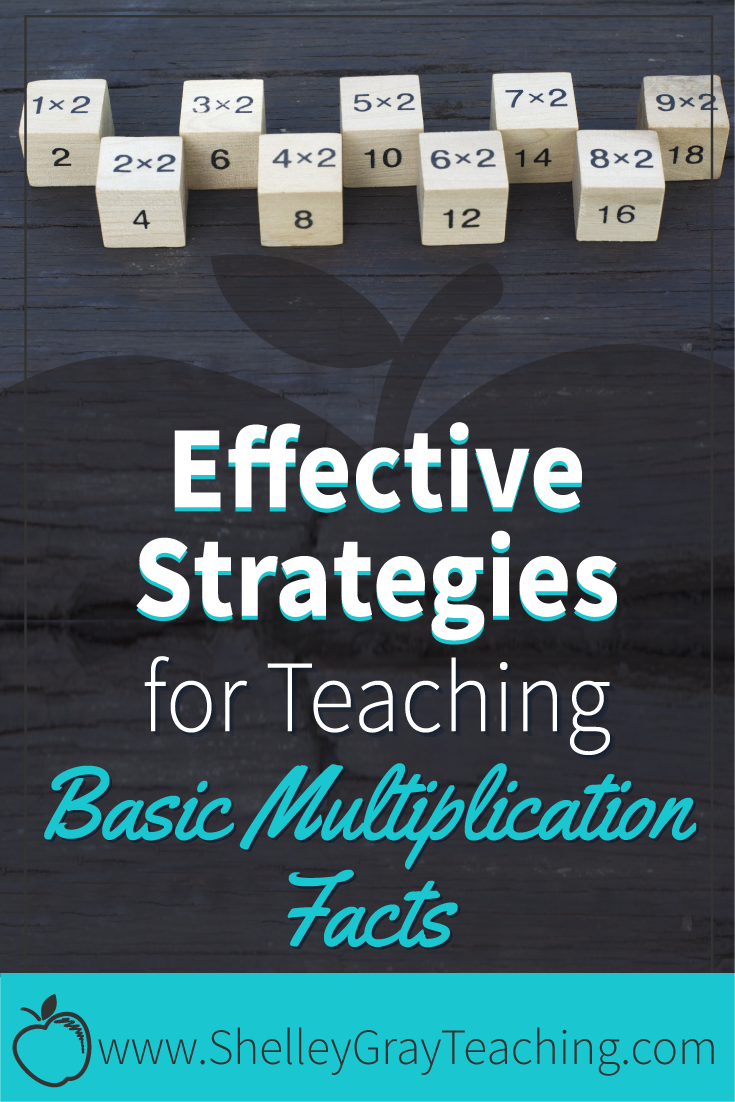 Effective Strategies For Teaching The Basic Multiplication Facts Multiplication Facts Teaching Multiplication [ 1102 x 735 Pixel ]