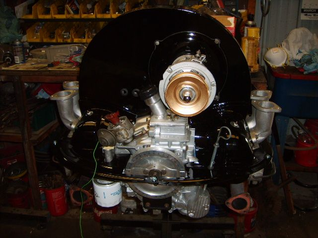 Cali type 4 upright conversion | Air-Cooled engine