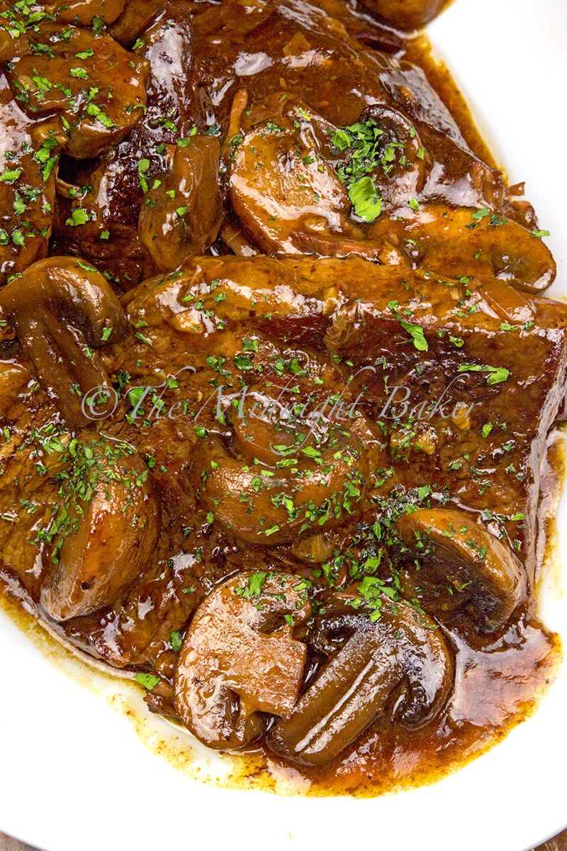 Slow Cooked Sirloin Tip Steak That Infuses With Tasty