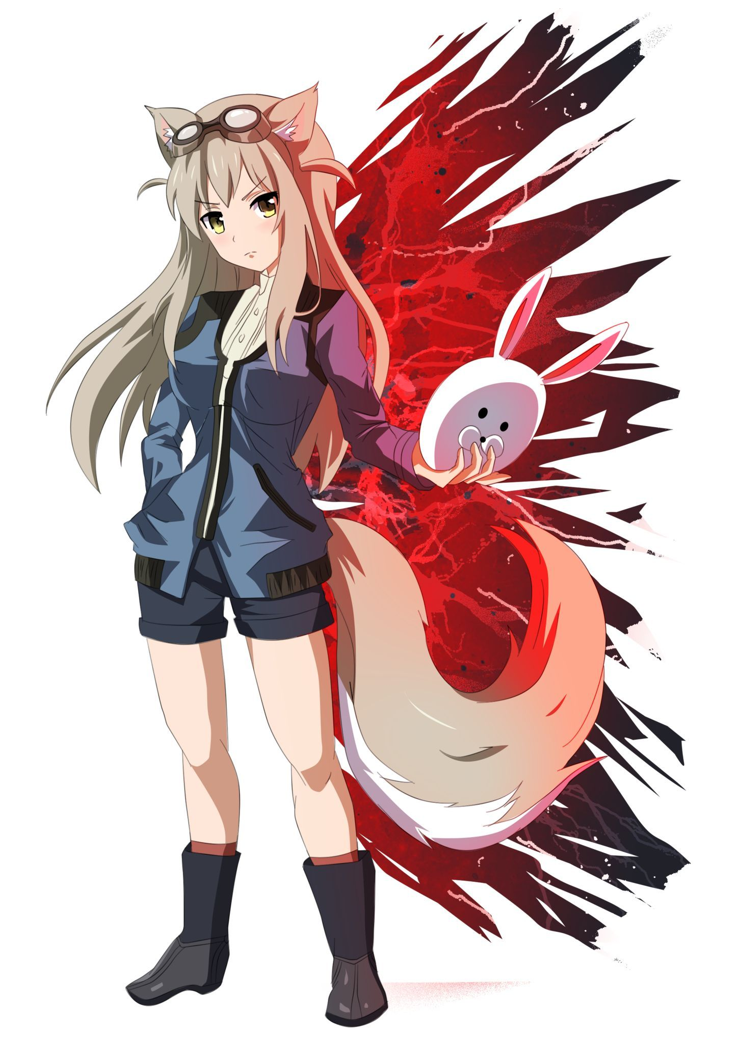 Exclusive Lost Pause Sticker Anime Anime Art Beautiful Anime Wolf
