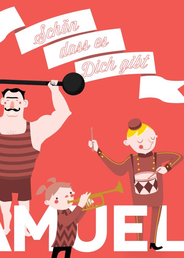 circus illustration by Carina Koren