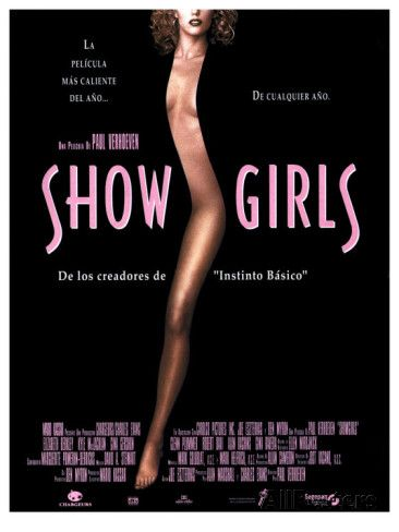 Showgirls movie poster - Google Search