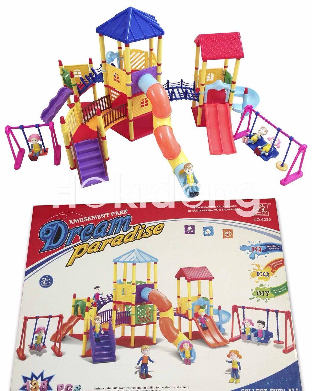 Dream Paradise Blocks Seperti Lego Sehingga Anak Dapat Merancang