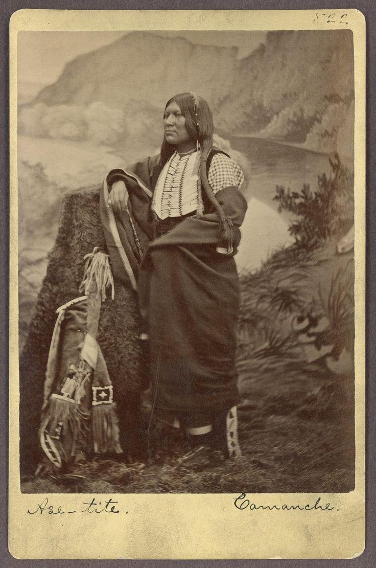 Ase-Tite, Comanche Indian