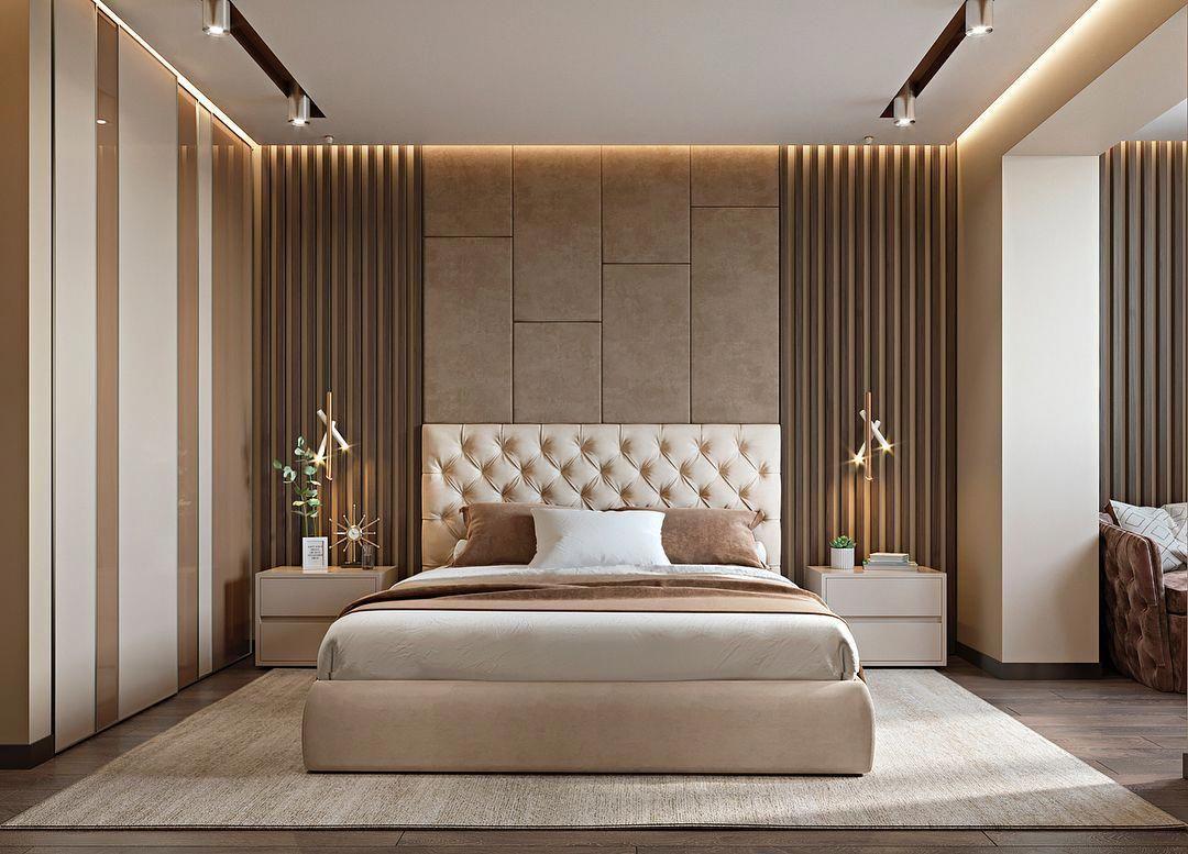 Luxuxbetten Modern Schlafzimmer GoldSchlafzimmerDekor