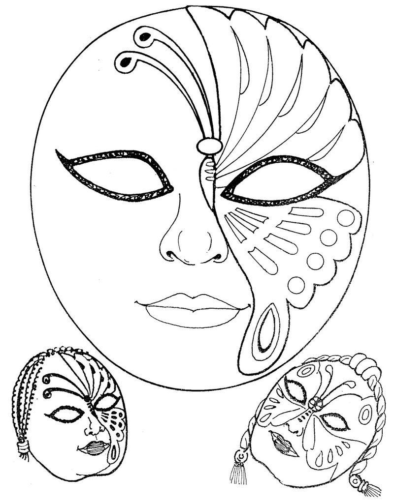 Mascaras de carnaval para imprimir foto divulga o - Mascaras para carnaval ...