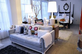 Cool Tiny Apartment I Love The Four Poster Bed And Grey Sofa Pdpeps Interior Chair Design Pdpepsorg