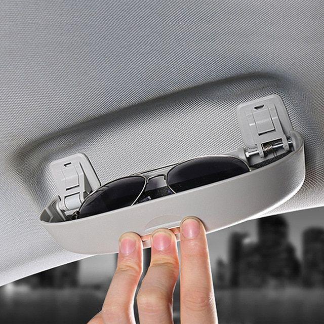 ed946eb7e602 Car Sunglasses Holder Auto Car accerories Eyeglasses Storage Box Case Fit  For Audi A3 A4 A5 A6 A8 A2 TT Q5 Q7 TT R8 ALLROAD Review