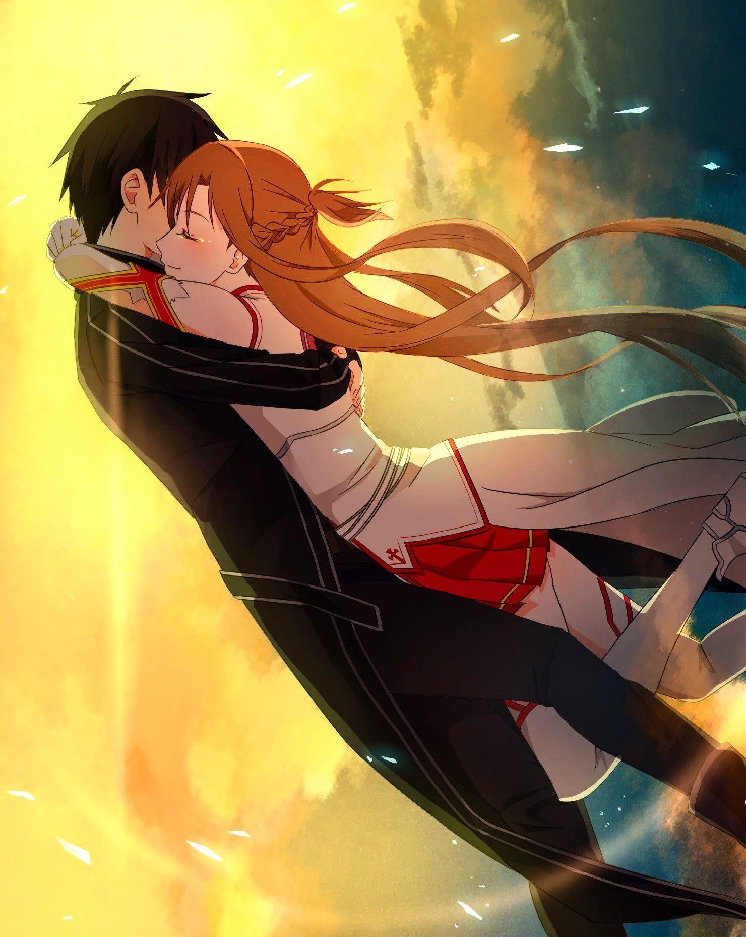 Photo of GG  ^^ /   Kirito x Asuna-Sword Art Online #fanart #manga #anime #GG  ^^ /  The …