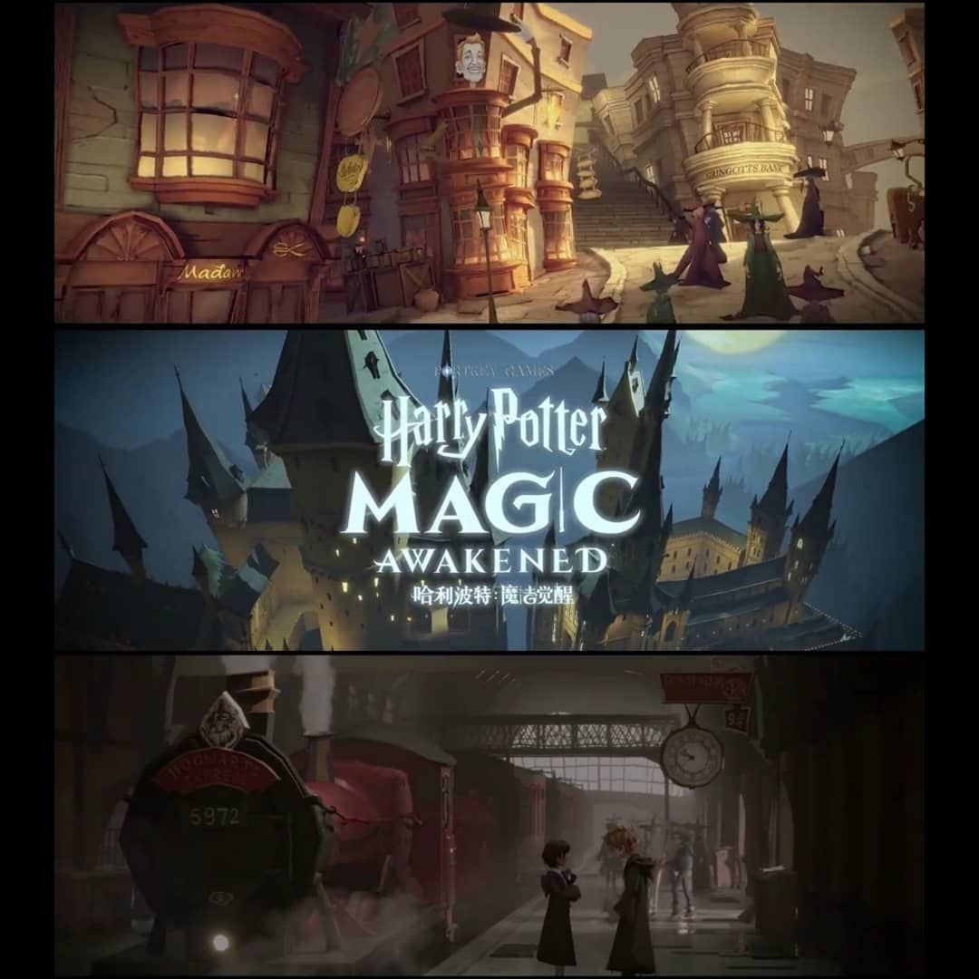 The Harrypotter Magicawakened Trailer Is Out What Do You Think Of In 2020 Harry Potter Magic Hogwarts Magic