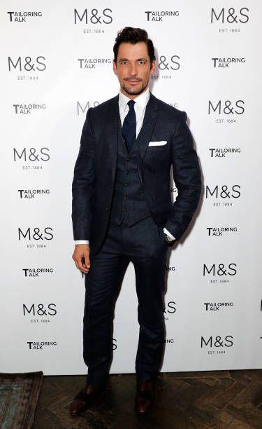 David Gandy attends the MS Tailoring Talk on October 3 ...