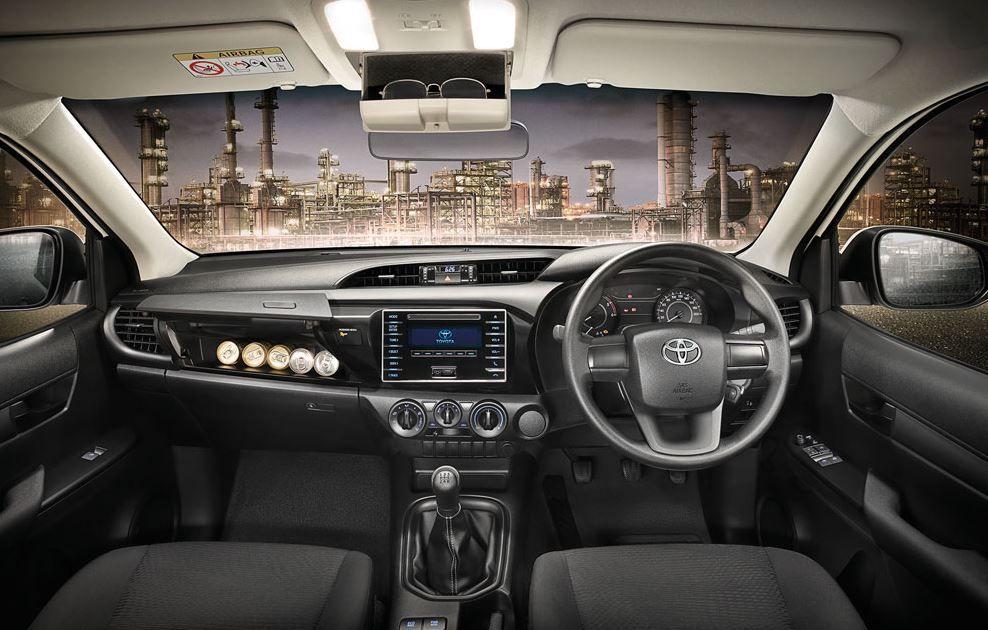 Toyota Hilux Revo Interior Toyota Hilux Toyota 2015 Toyota