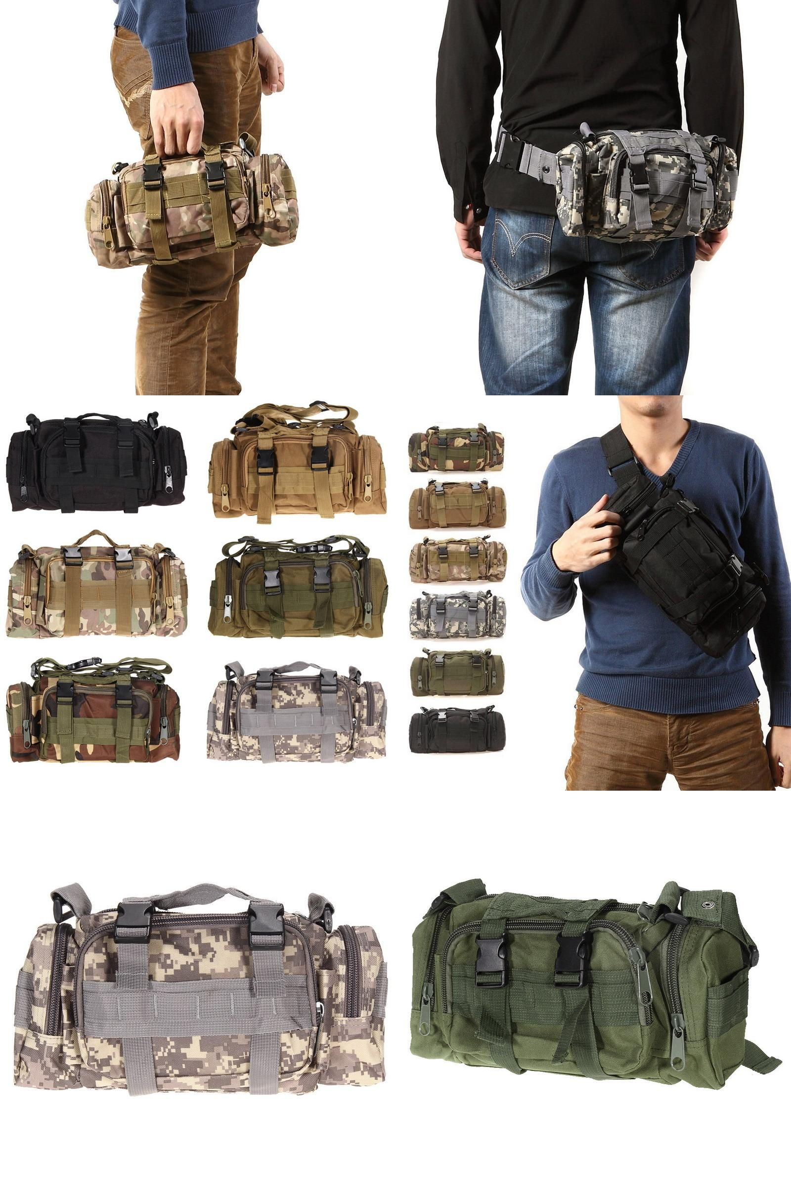 73447ecaa8d2  Visit to Buy  Tactical Bag Sport Bags 600D Waterproof Oxford Fabric  Military Waist Pack Molle Outdoor Pouch Bag for Camping Hiking EA14   Advertise…