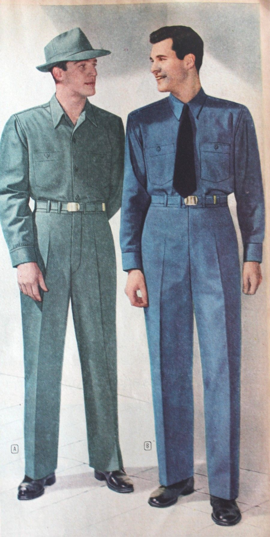 1940s Fashion Men And Women, Hong Kong of 1980 ~ vintage everyday