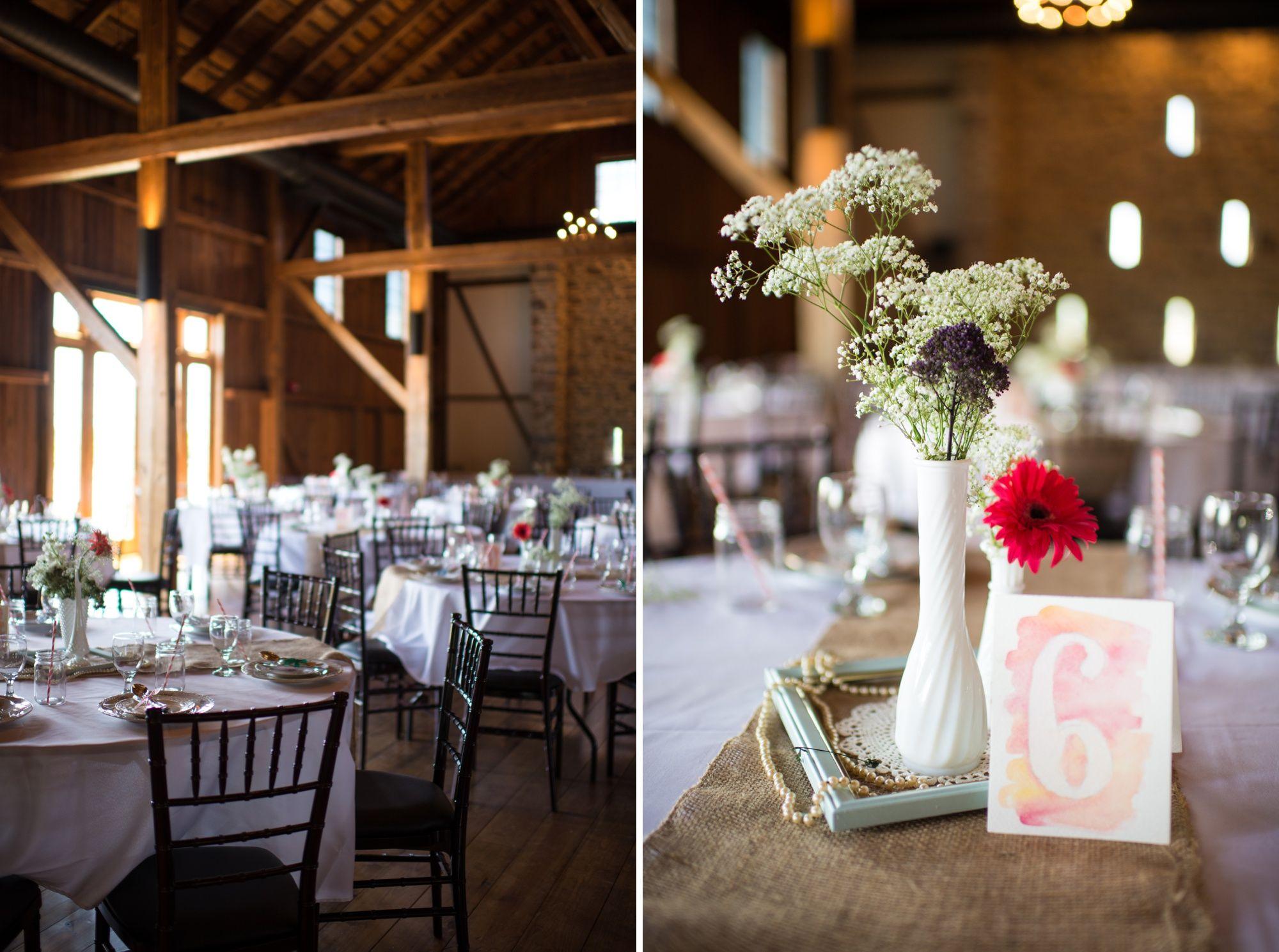 Farm wedding decor ideas  Harvest View at Hershey Farms Barn Wedding  Addie Eshelman