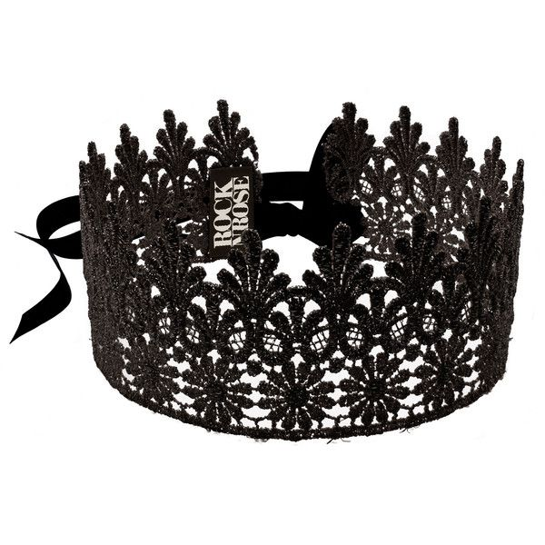 Image of DOLCE Black Lace Crown