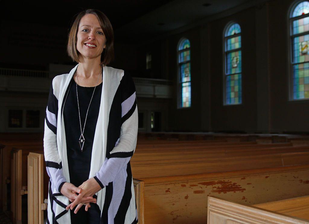 Carol McEntyre serves as the senior pastor at First Baptist Church in Columbia