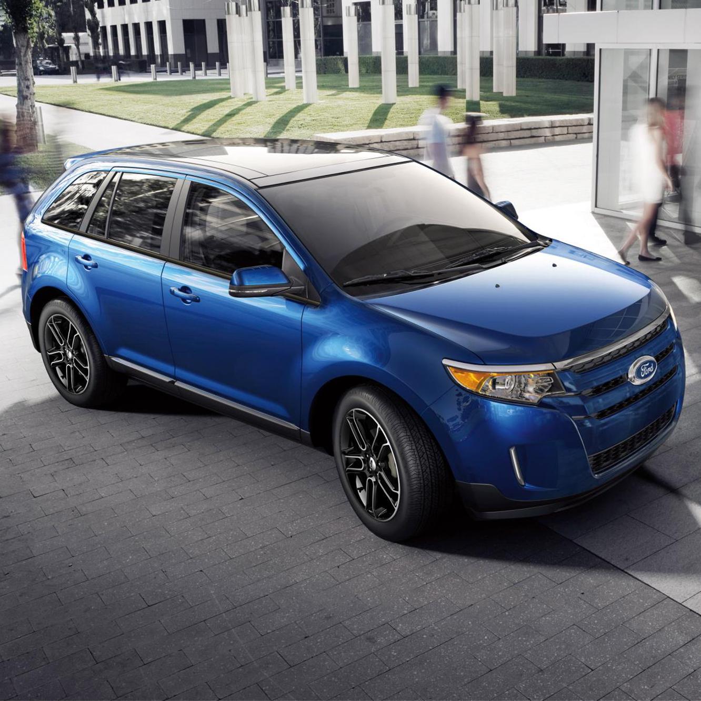 2019 Ford Ecosport: Ford Edge! Hello BLUE!