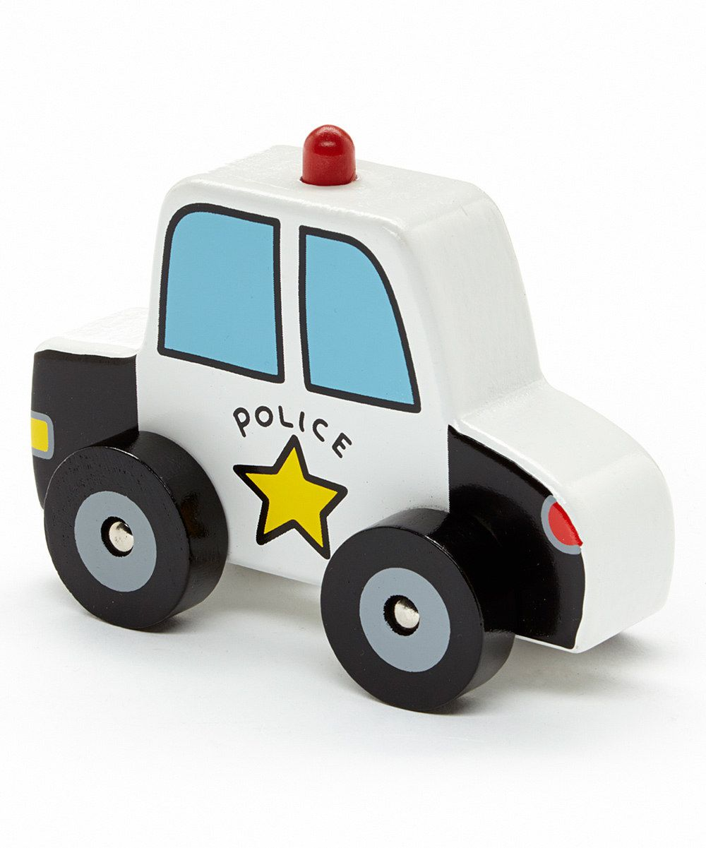 Look at this police car toy on zulily today