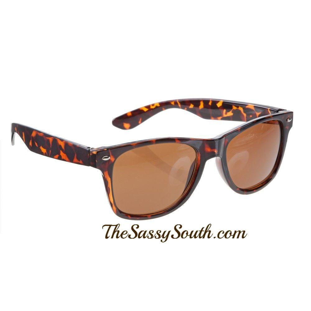 4318cdc2e2 Tortoise Wayfarer Style Sunglasses