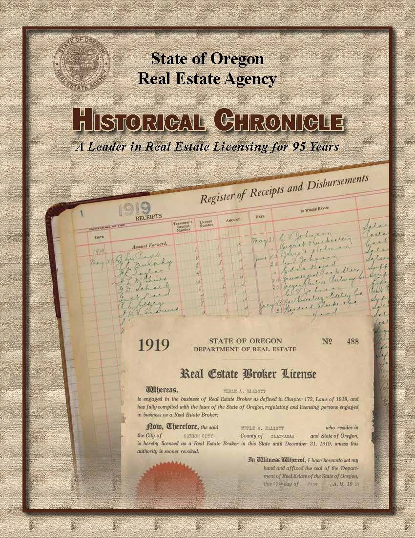 Historical chronicle a leader in real estate licensing