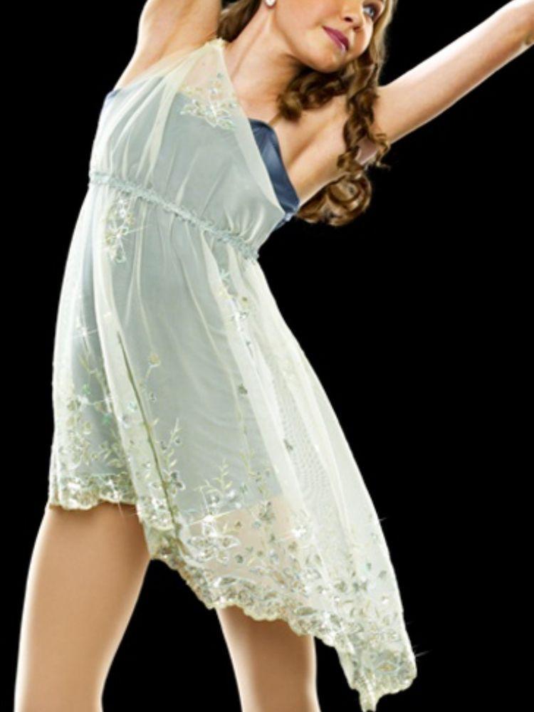 Women Curtain Call E221 Devine Beauty Lyrical Dance Costume Size