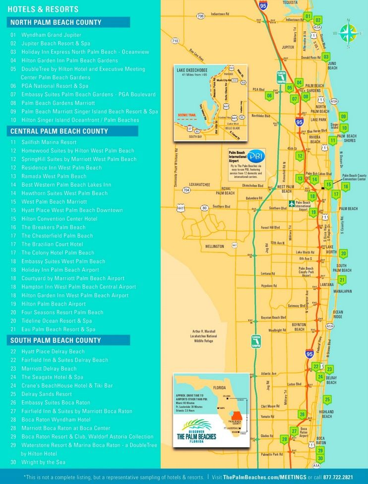 Palm Beach hotel map Maps Pinterest Beach hotels Palm beach