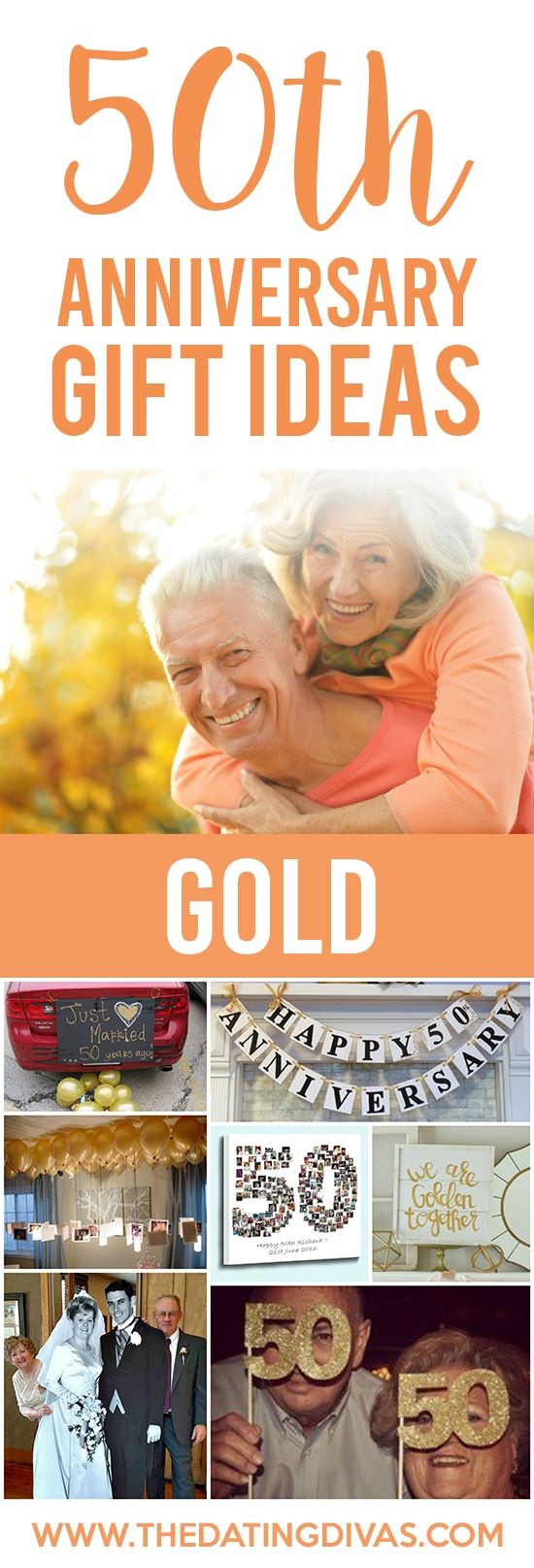 Anniversary Gifts By Year for Spouses From 50th