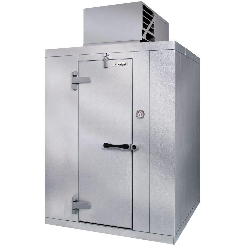 Kolpak Qs6 0612 Ct Polar Pak 6 X 12 X 6 Indoor Walk In Cooler With Top Mounted Refrigeration Walk In Freezer Solid Doors Cooler