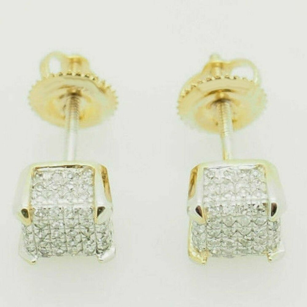 2.5 ct 3 Stone Round Dangle Leverback Past Present Future Earring 14 Yellow Gold