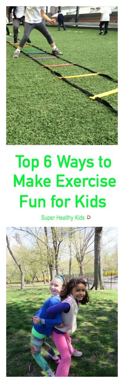 Top 6 Ways to Make Exercise Fun