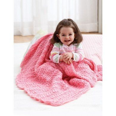 Knit Blanket In Bernat Baby Coordinates Solids Discover More
