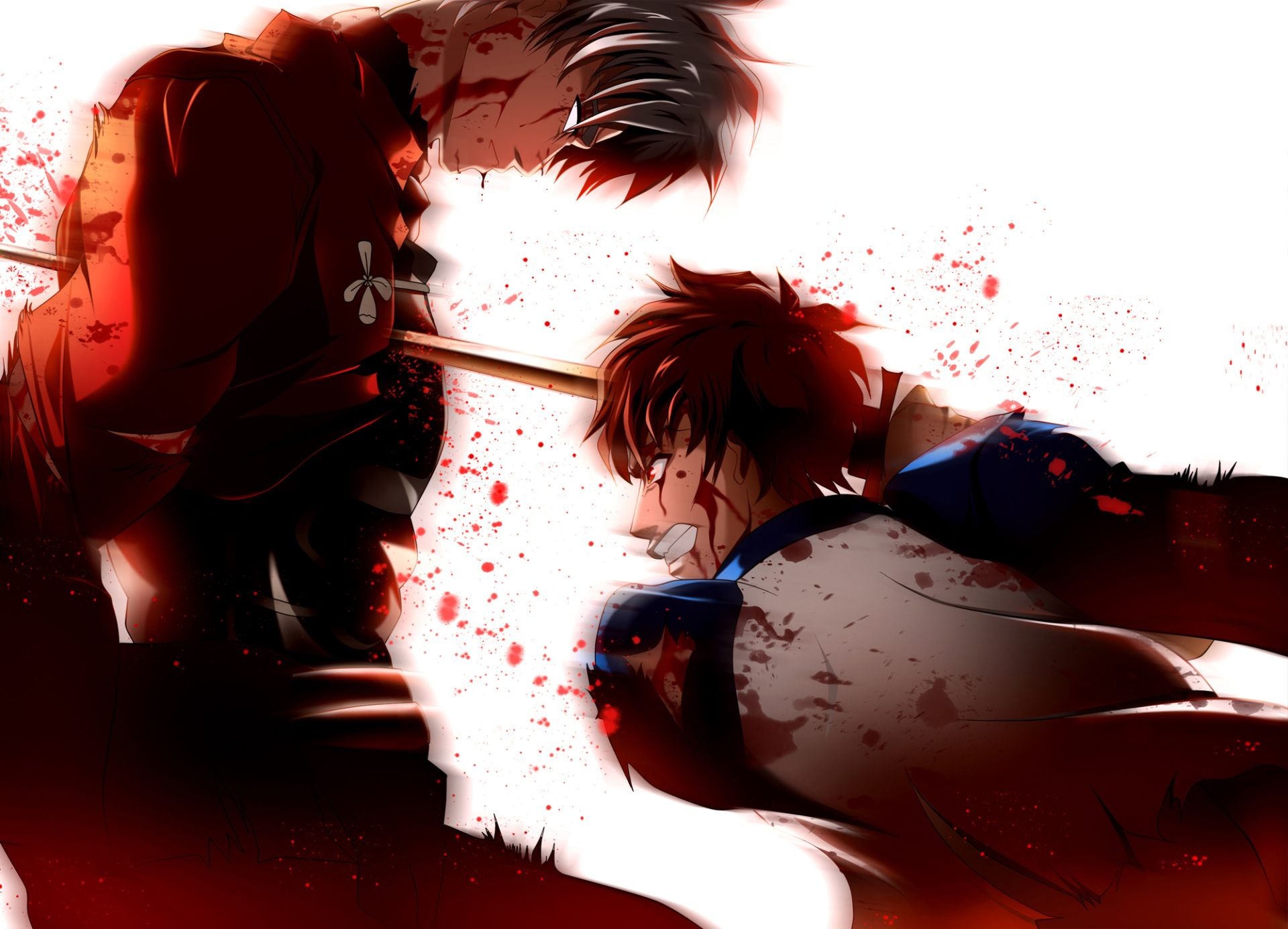 Anime Fate Stay Night Archer Shirou Emiya Wallpaper