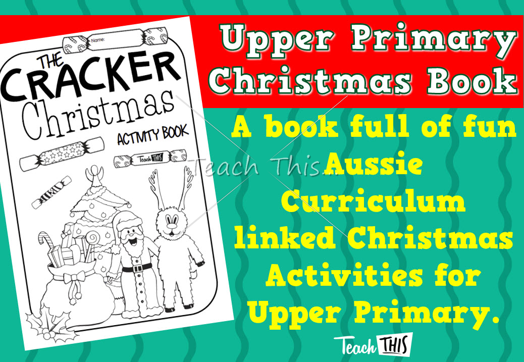2015 Christmas Activity Book - Upper Primary | Teaching ideas ...