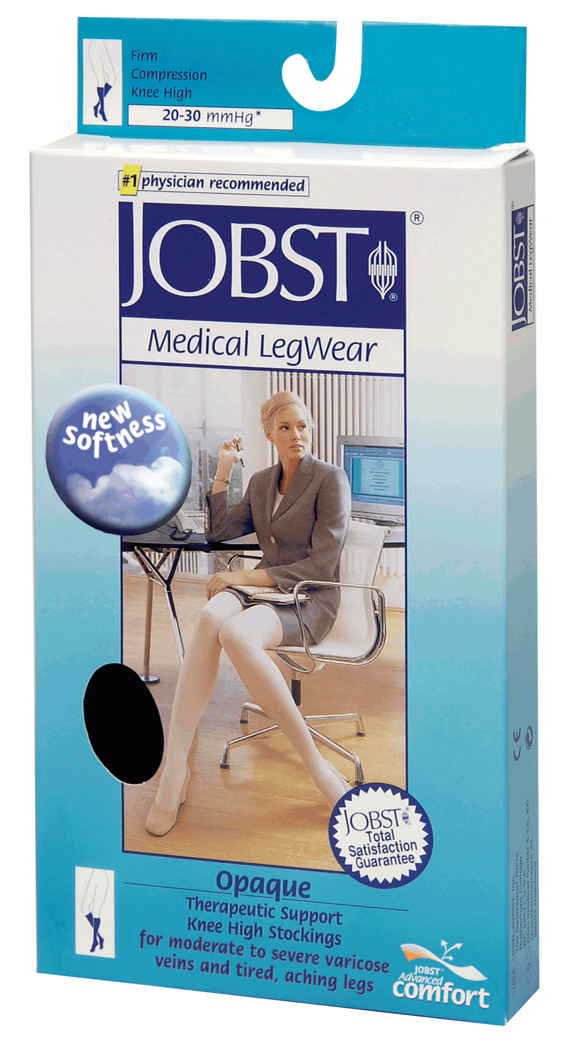 PR/1 KneeHigh Firm Opaque Compression Stockings Small