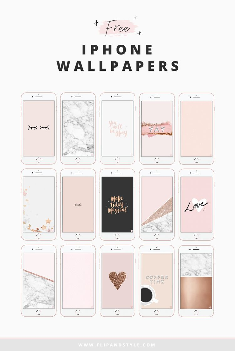 Free iPhone Wallpapers For Personal Use (Flip And Style