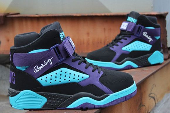 Ewing Athletics Focus Charlotte Hornets #sneakers | 4 My son