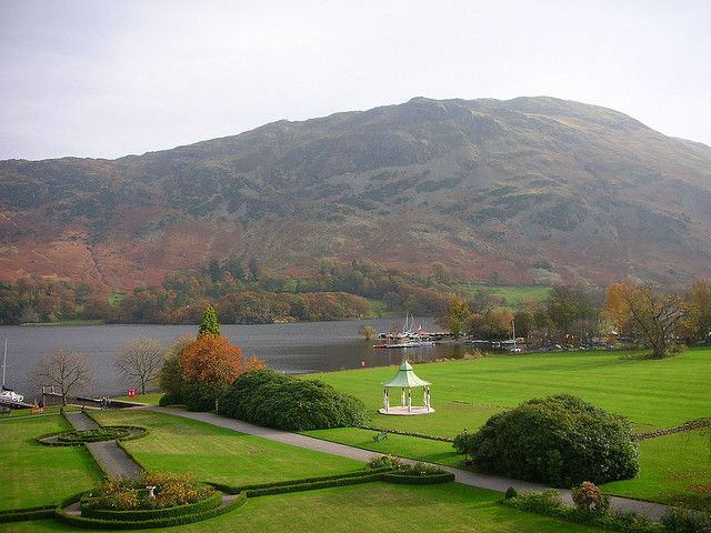 Lake Ullswater Viewed From The Inn On The Lake Inn On The Lake Lake District Beautiful Lakes