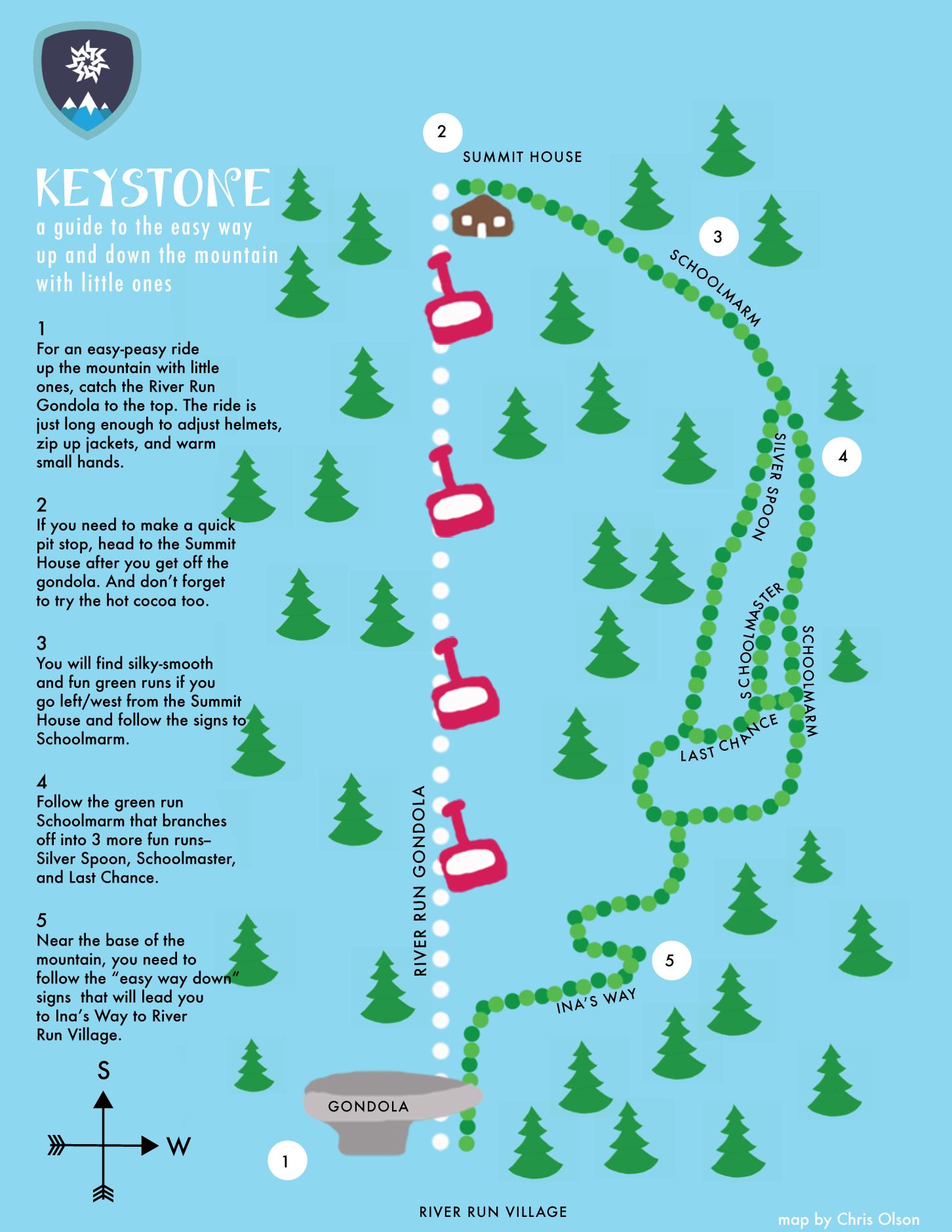Keystone | Keystone Colorado in 2019 | Keystone colorado, Map ...