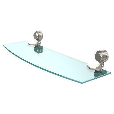"Allied Brass Venus 18"" W Bathroom Shelf Finish: Polished Nickel"