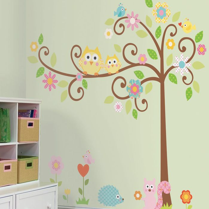 This Tree Megapacks Scroll Tree Wall Decal Church - Wall decals for church nursery