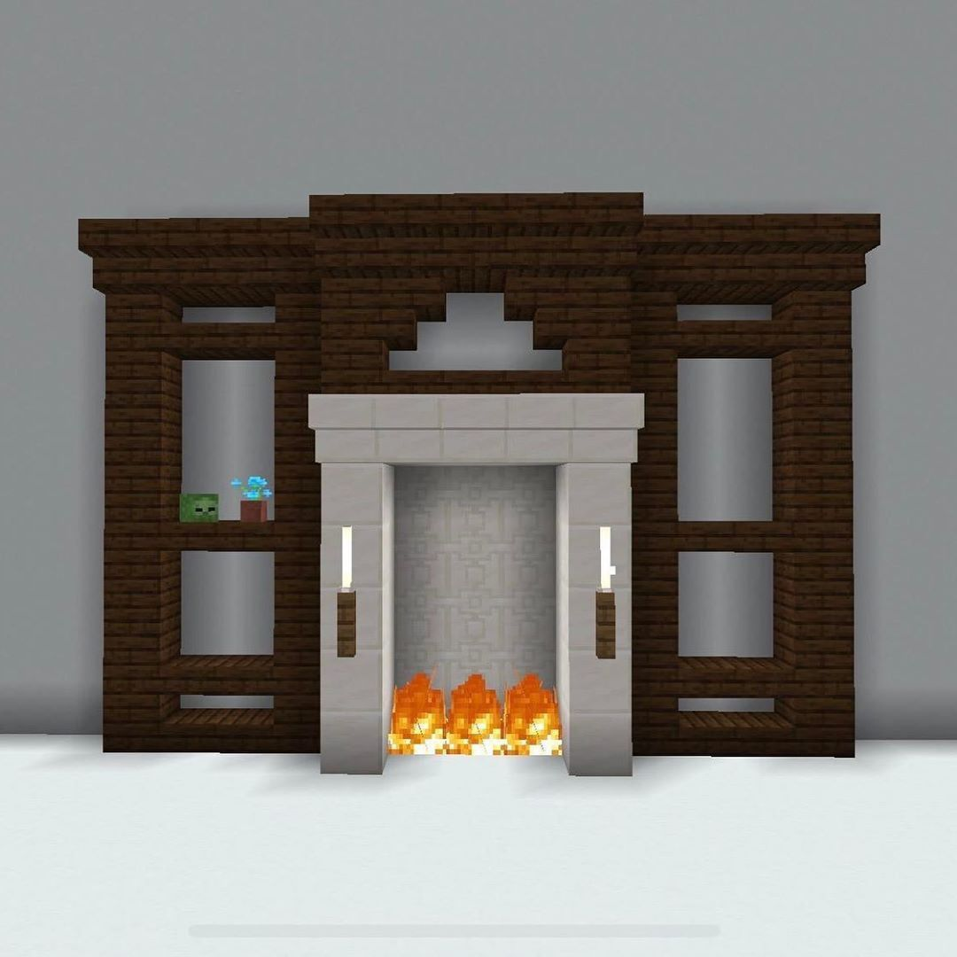 Login #minecraftbuildingideas 352 gilla-markeringar, 8 kommentarer - The Fine Crafts (@thefinecrafts) på Instagram: Incredible wall unit design #minecrafthouses