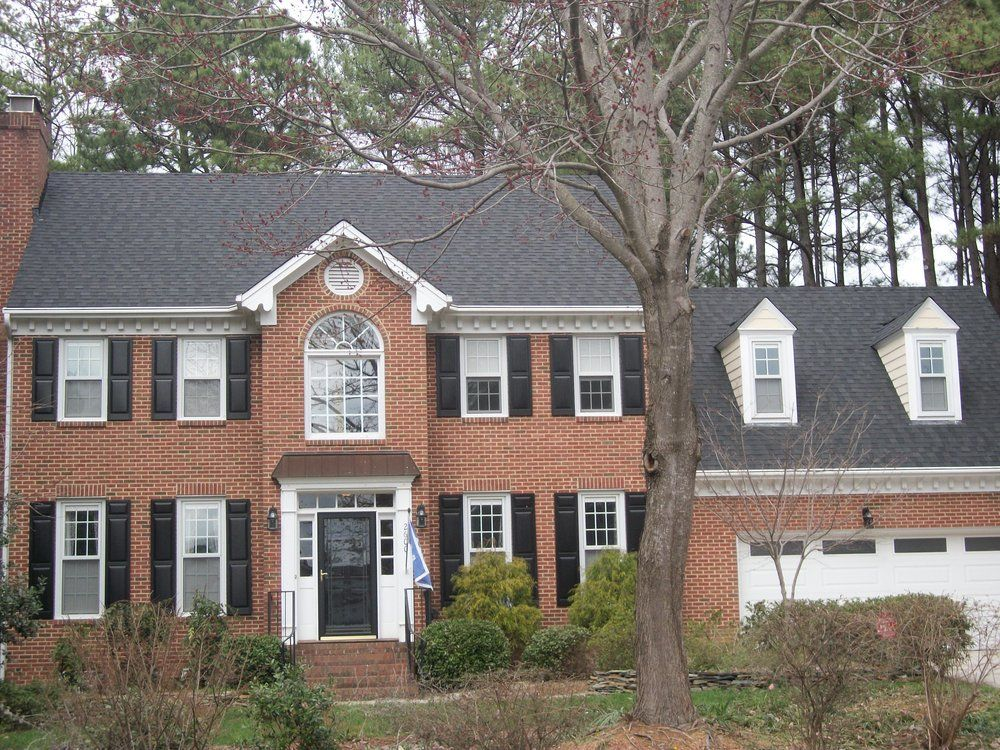 Dana Dean Roofing Company - Raleigh, NC, United States. CertainTeed 30 yr LandMark AR Designer Shingle (Moire Black)