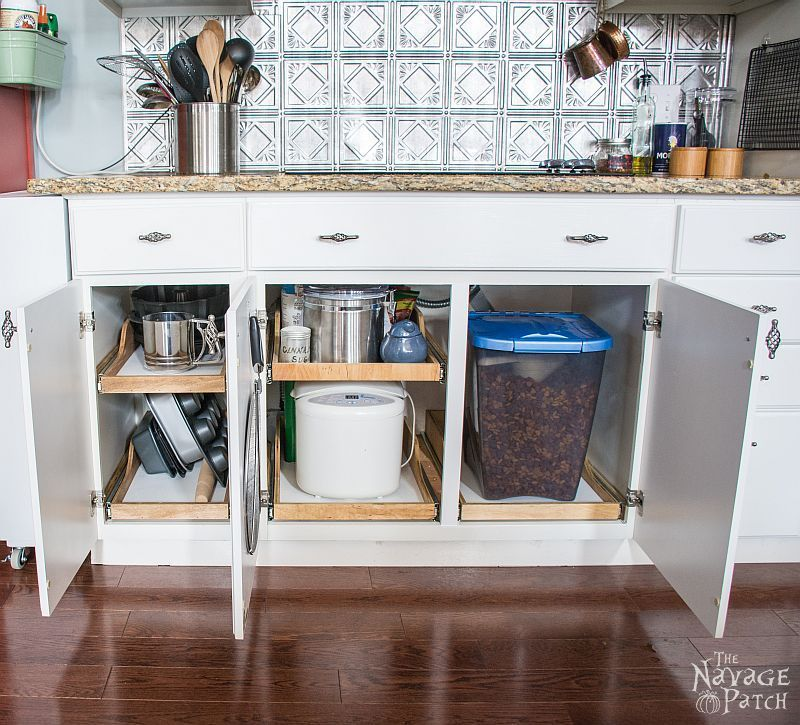 DiY Slide Out Shelves | Diy Pull Out Kitchen Shelves | How To Make