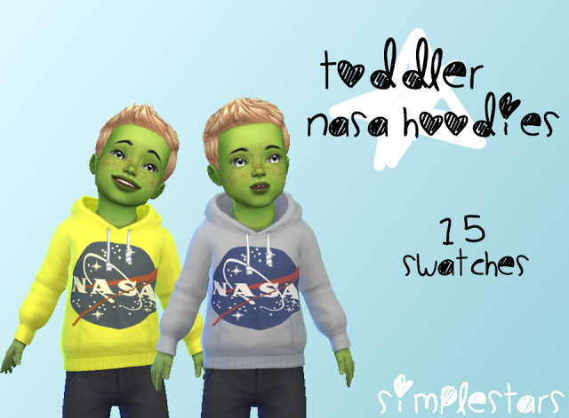 Sims 4 CC's - The Best: Toddler Hoodies by pixiesandghosts