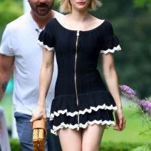 Emma Roberts Actress Celebrity Beautiful Babe Posing Hot Red Carpet