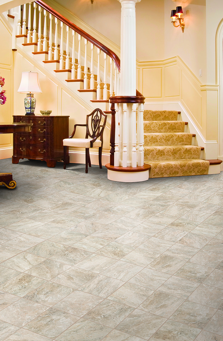 Mohawk Floorings Apremont Tile In Crema Its All In The Details